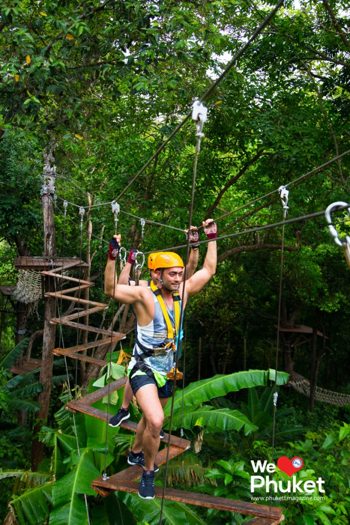 Let S Go Into The Jungle And Jump Over The Trees Phuket