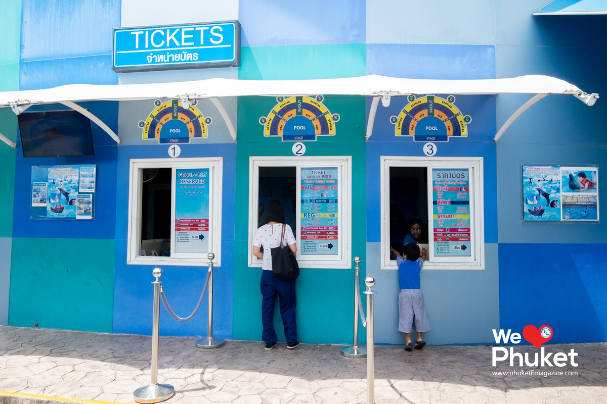 Dolphin Bay Phuket - Ticket Counter - Phuket E Magazine