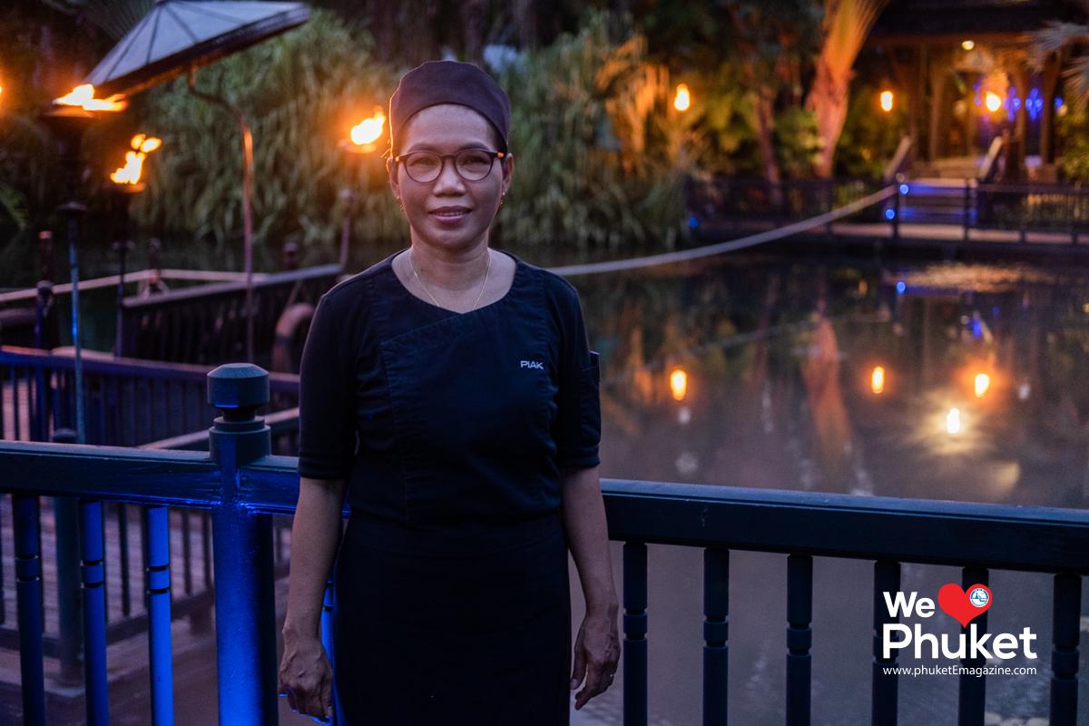เชฟเปี๊ยก - The Black Ginger, The Slate Phuket Resort. Thailand